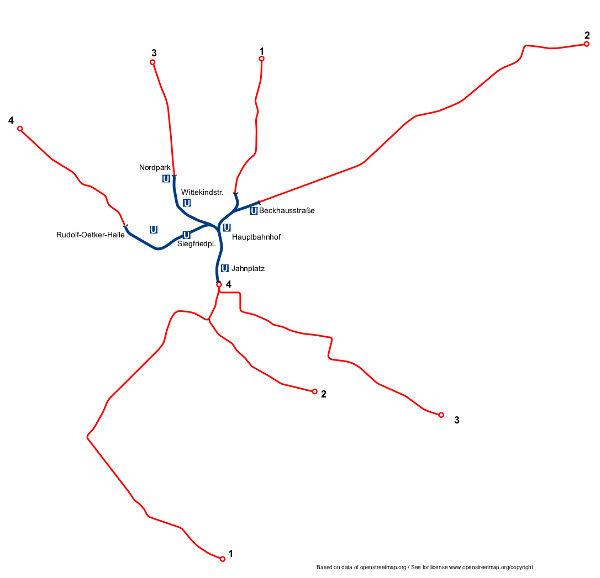 Bielefeld Stadtbahn Transport Wiki