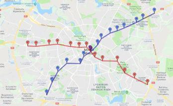 Metro de Minsk