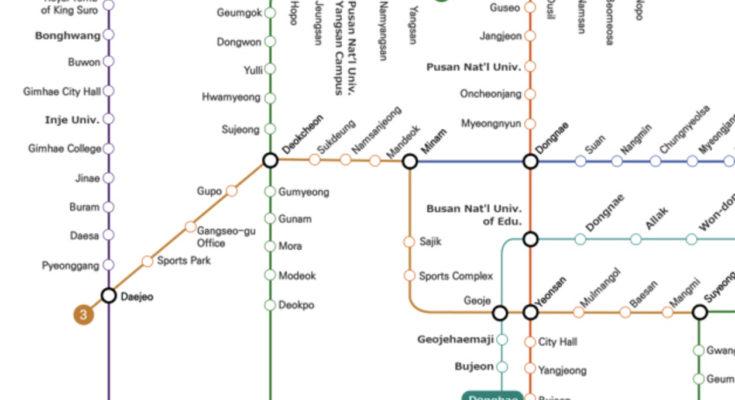 busan metro map