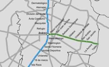 Guadalajara Mexico Metro Map