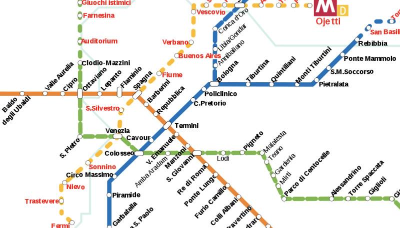 Rome S Subway Transport Wiki