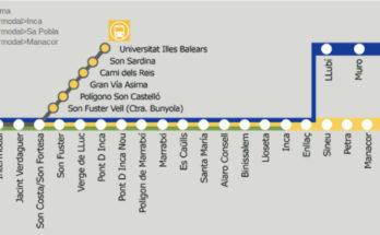 metro plama mayorca