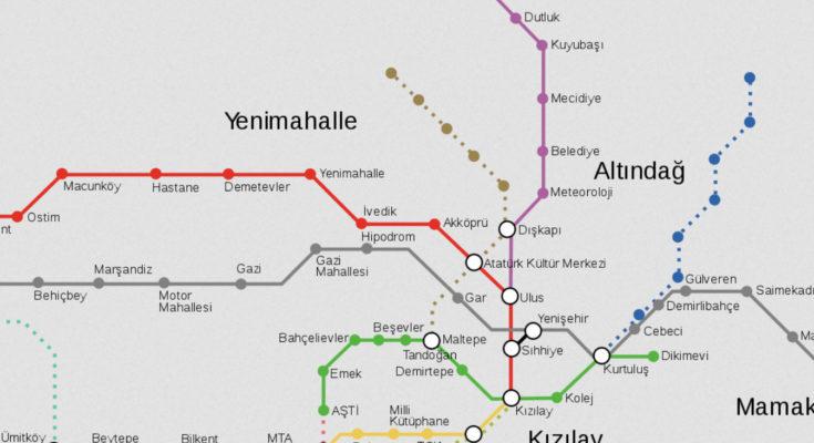 metro do ankara ankaray