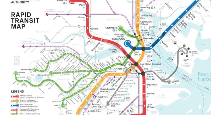 boston metro map