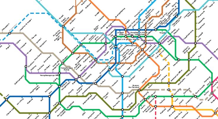 seoul metro map